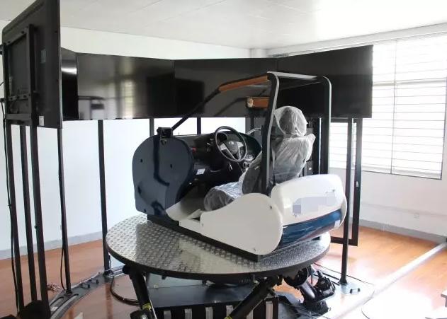 六自由度车辆运动模拟器的原理
